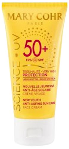 New Youth Anti-Ageing Sun Care SPF50+