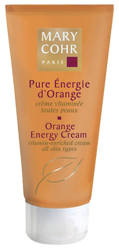Orange energy cream