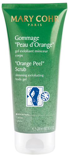 Orange peel scrub