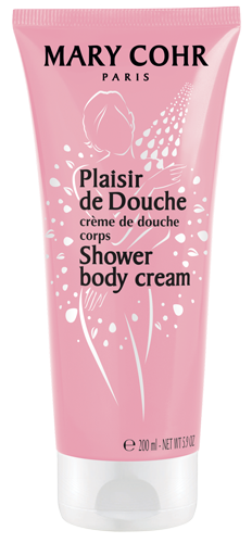 Shower body cream plaisir